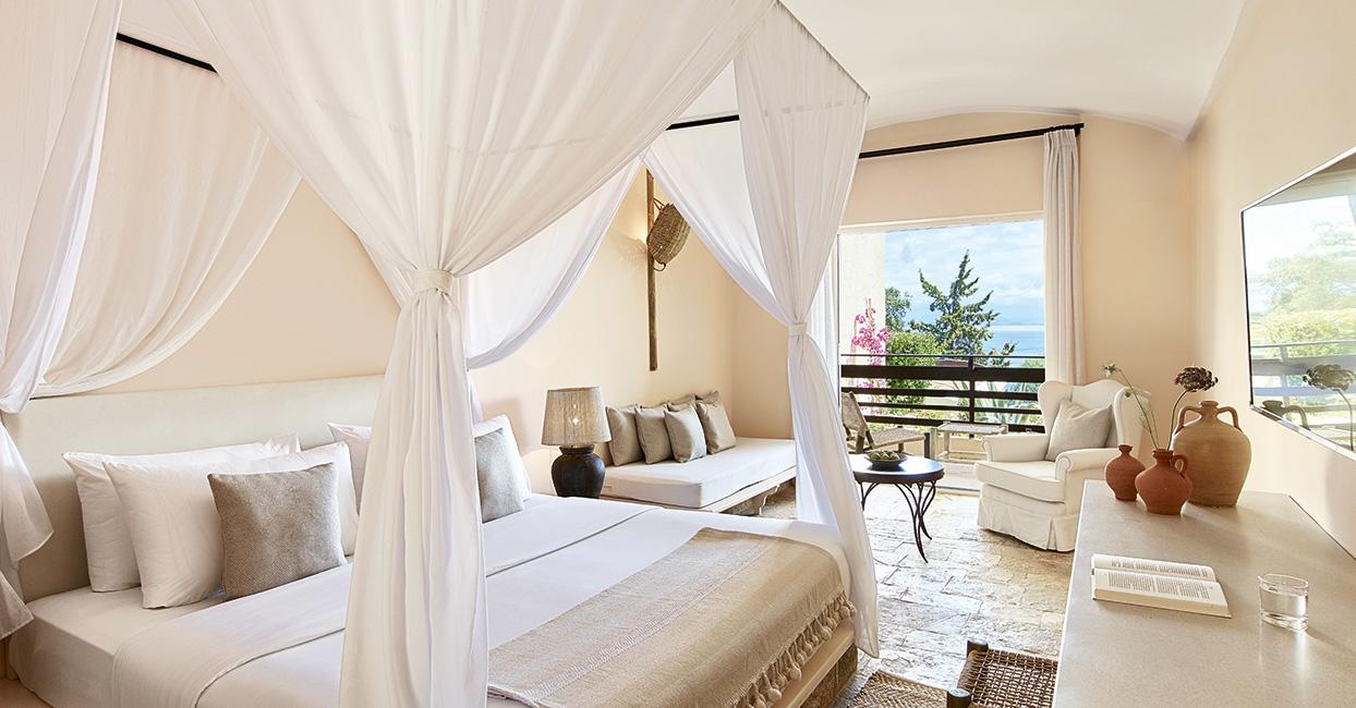 Lux me Resort Daphnila Bay Dassia in Corfu