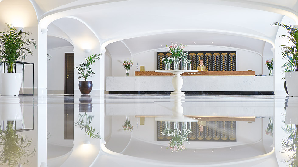 New Lobby Lounges Daphnila Bay Thalasso Beach Resort Corfu