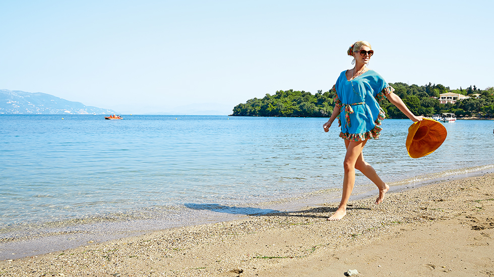 Fine Sandy Beach Hotel Corfu