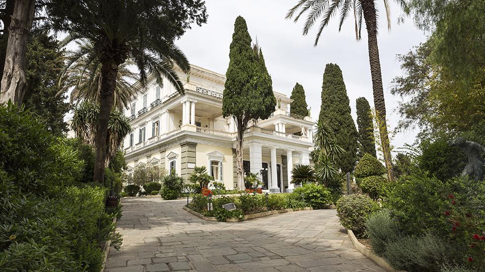 Sissy Palace corfu Island