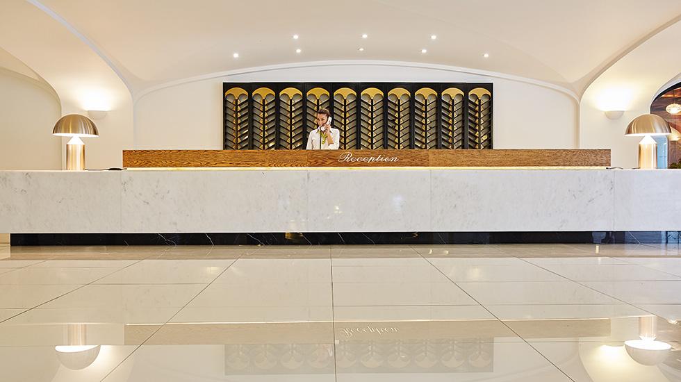 daphnila bay thalasso all inclusive hotel corfu lobby