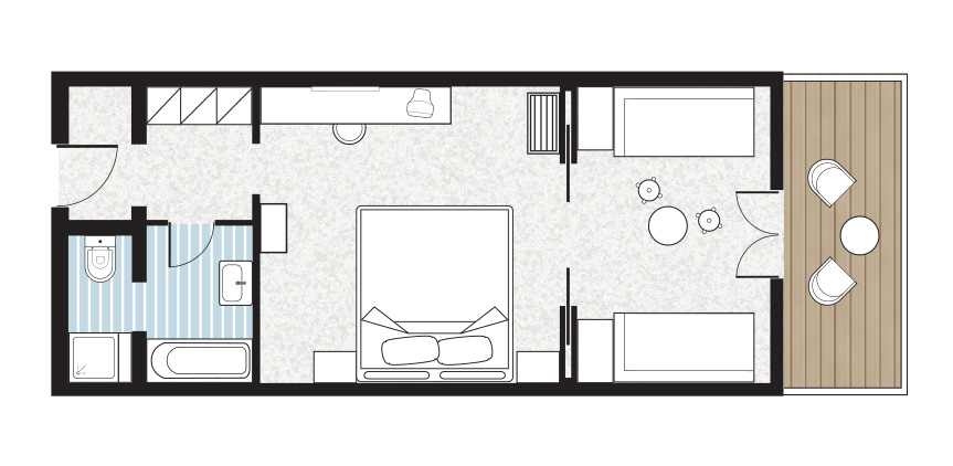 paradiso-family-bungalow-front-row-sea-side-floorplan