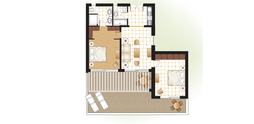 Daphnila-Bay-two-bedroom-Villa-floorplan