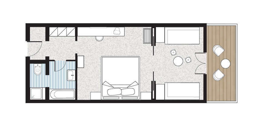 Paradiso-Family-Bungalow-first-row-floorplan
