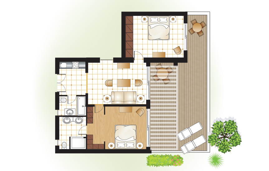 dream-villa-2-bedroom-private-garden-sea-view-floorplan
